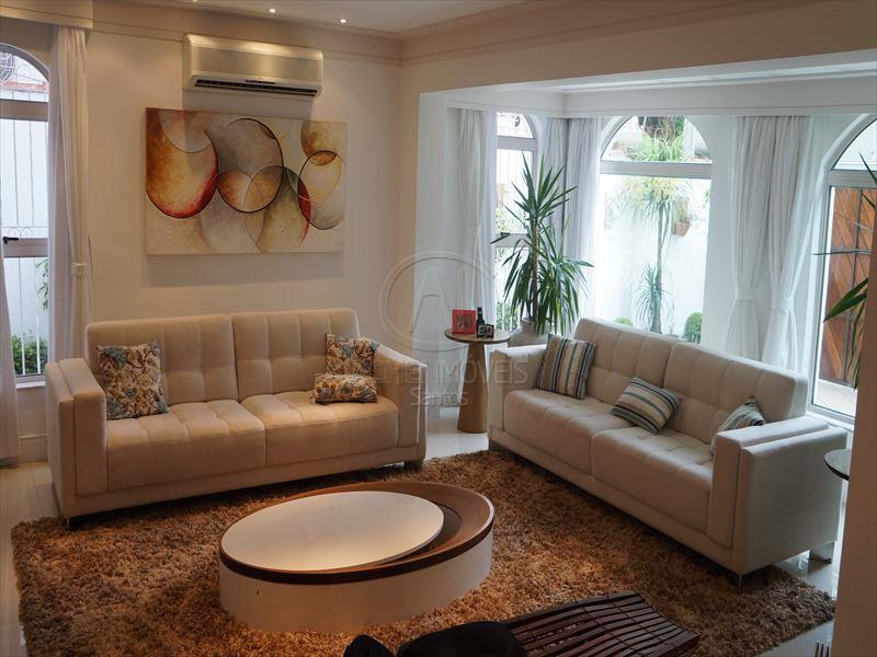 Casa Residencial à venda, Aparecida, Santos - CA0698.