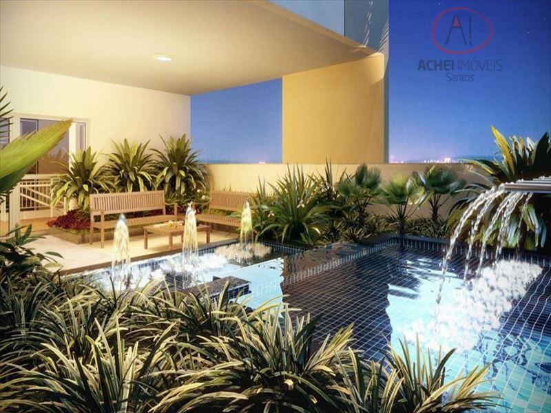 Apartamento Residencial à venda, Vila Matias, Santos - AP4537.