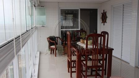Apartamento residencial à venda,3 dormitórios, 2 suites e 2 vagas demarcadas, Embaré, Santos - AP6232.