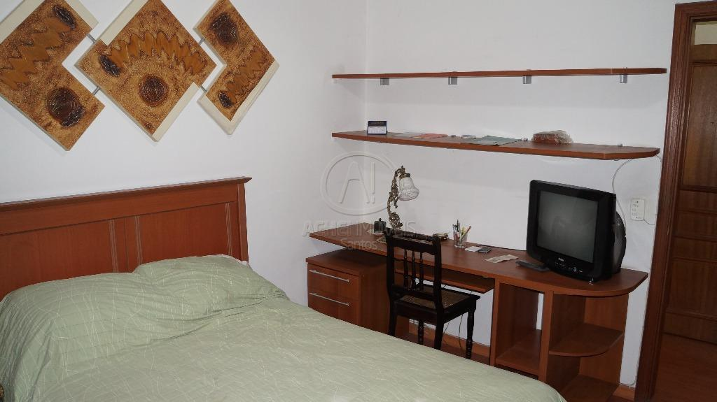 apartamento em santos, no embaré, vista deslumbrante para o oceano, 3 salas, cozinha ampla, área de...
