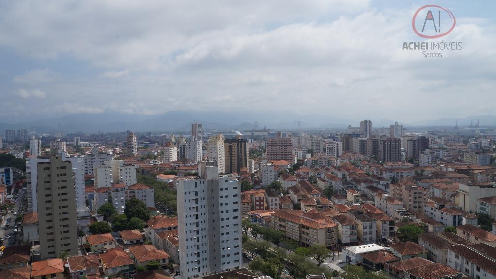 Apartamento residencial para venda e locação, 4 dorms com 2 suites, 3 vagas, lazer, Boqueirão, Santos.