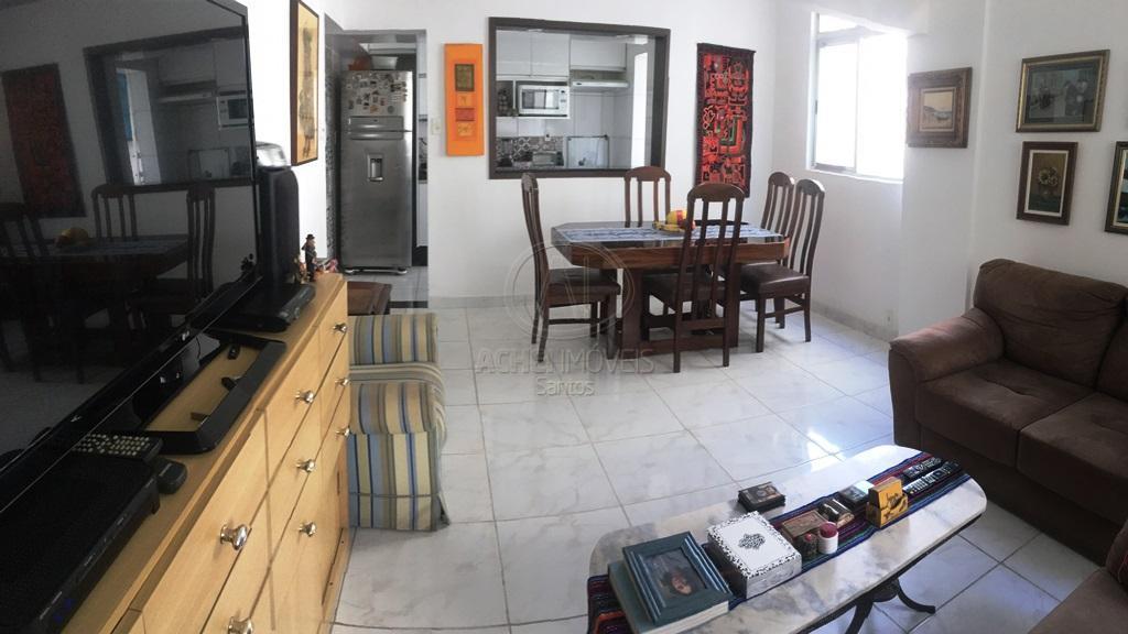 Apartamento com 2 dormitórios 1 suite  à venda, 91 m² por R$ 450.000 - Boqueirão - Santos/SP