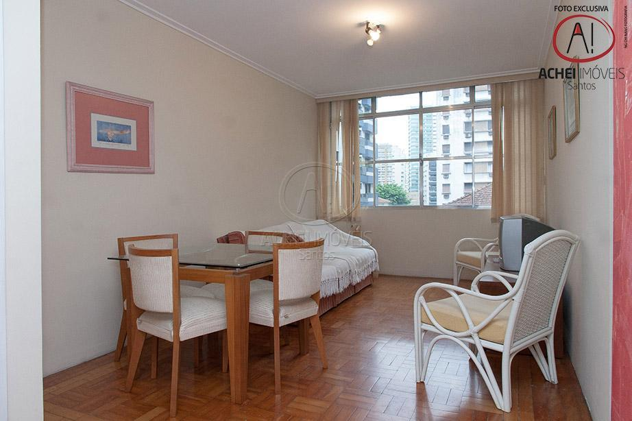 apartamento em santos, no boqueirão, na rua arthur assis, excelente localização, 2 quadras da praia, perto...