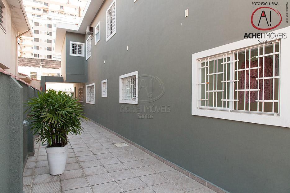 belissima casa em santos, tipo sobrado, isolada, no bairro aparecida, totalmente reformada, 6 vagas de garagem,...