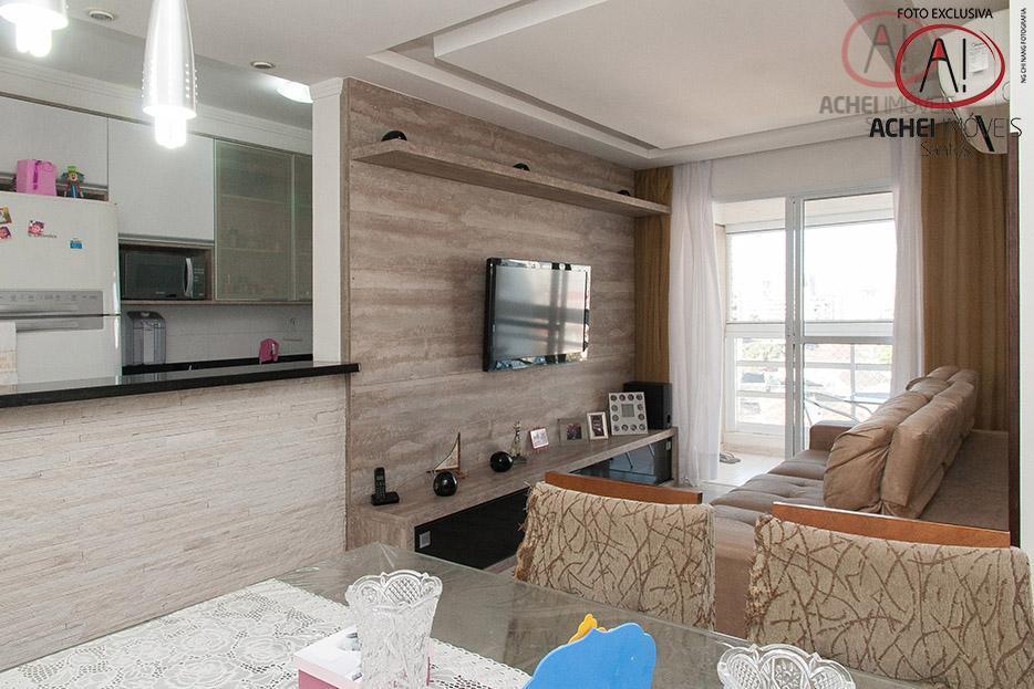 Apartamento residencial à venda, 2 dorms, 1 suite, varanda, 1 vaga, lazer completo, Vila Belmiro, Santos.