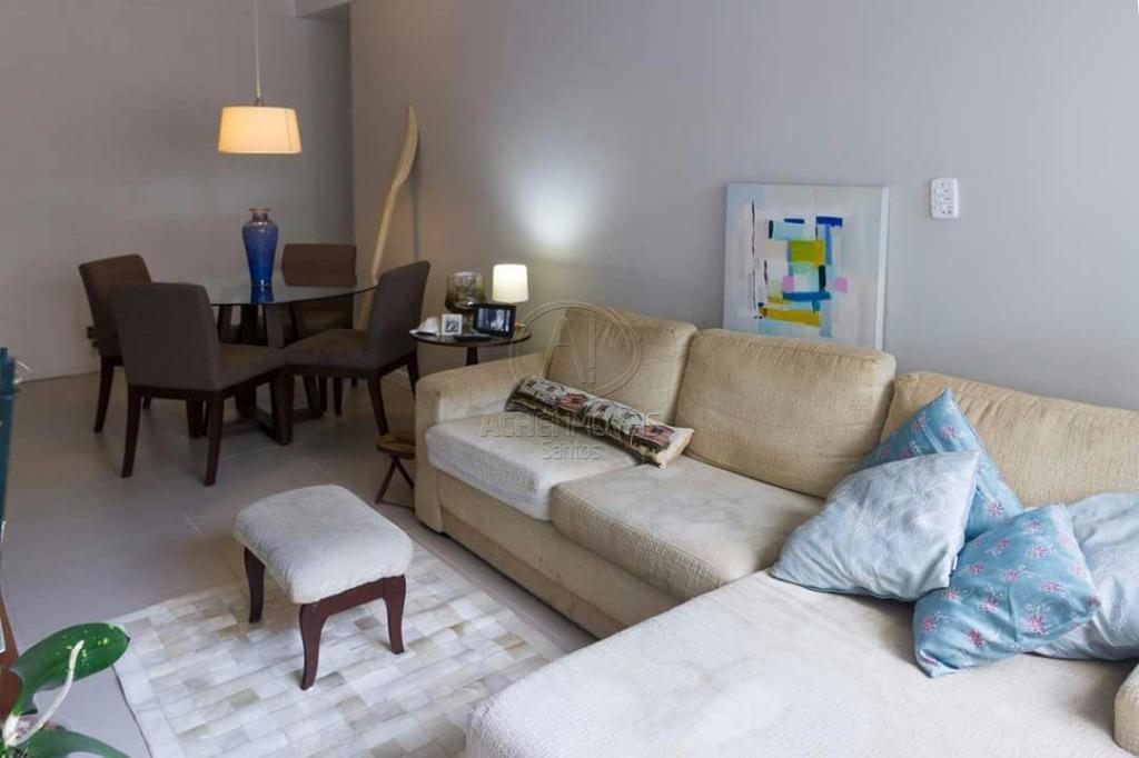 Apartamento residencial à venda, 2 dorms, garagem fechada, excelente localização, Aparecida, Santos.
