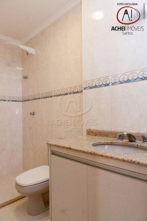 apartamento em santos, no boqueirão, andar alto, com vista mar, sala para 3 ambientes, com varanda,...