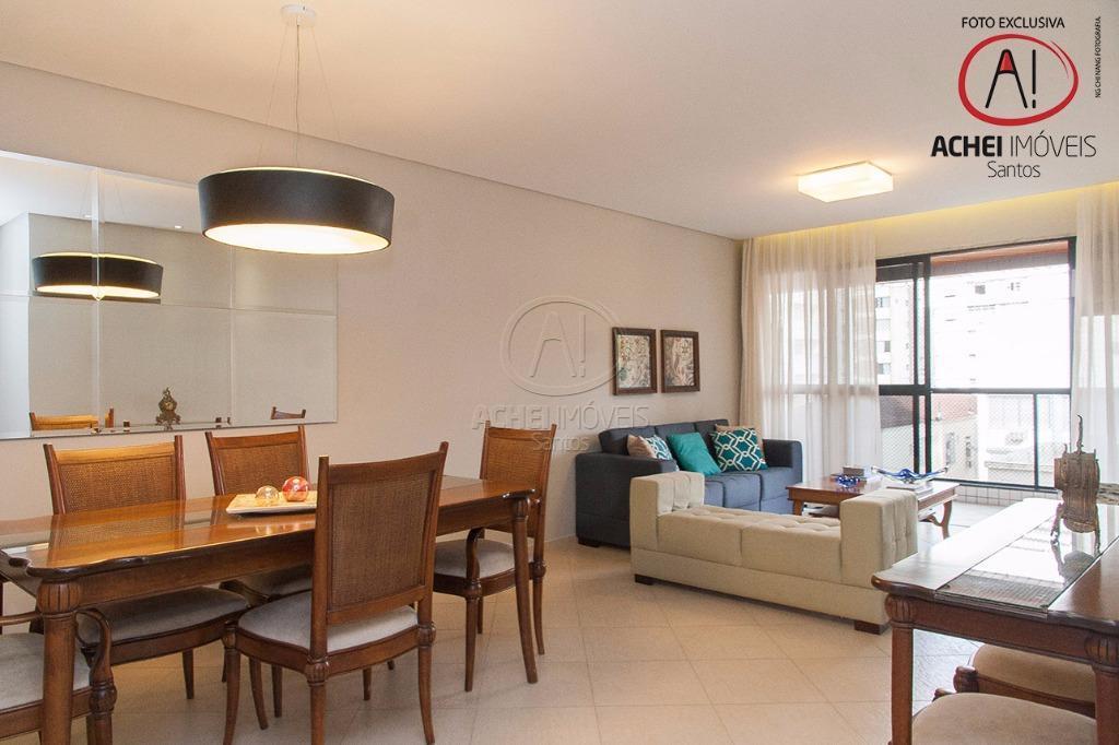 Apartamento residencial à venda, 2 suites, Dep revertida, Sala 2 amb. com varanda gourmet, 2 vagas, Lazer Comp. Aparecida,Santos