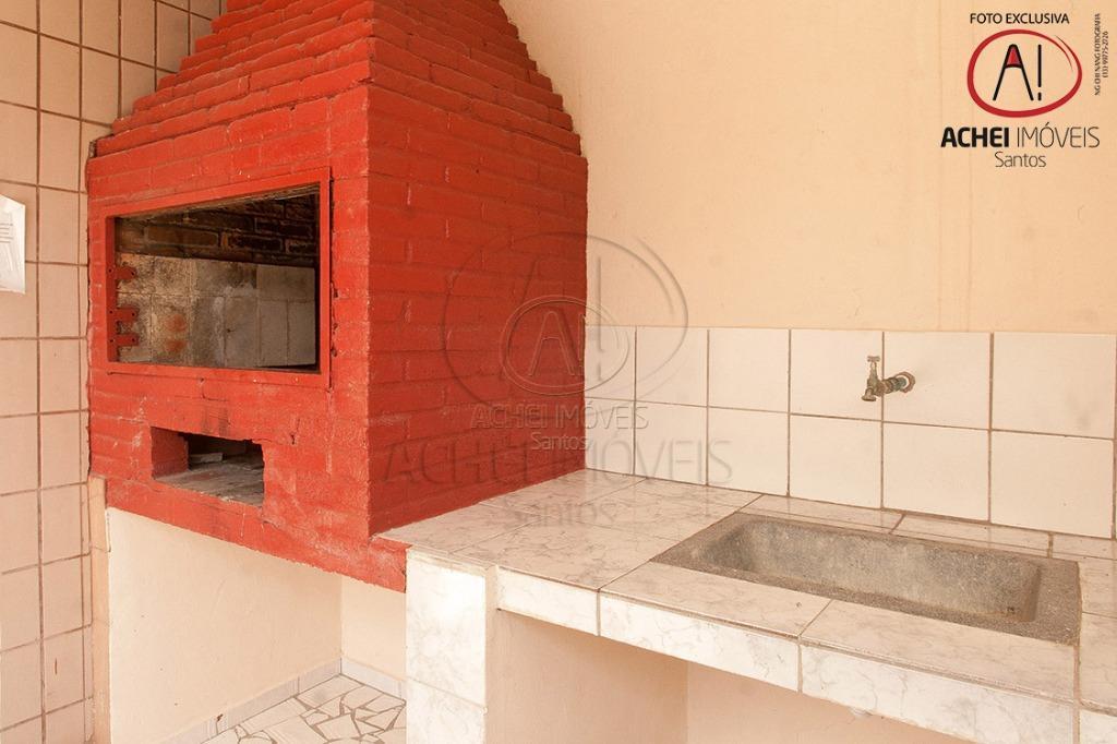 Cobertura Duplex residencial à venda, 2 dorms com 1 suite, 1 vaga de garagem, Churrasqueira, José Menino, Santos.