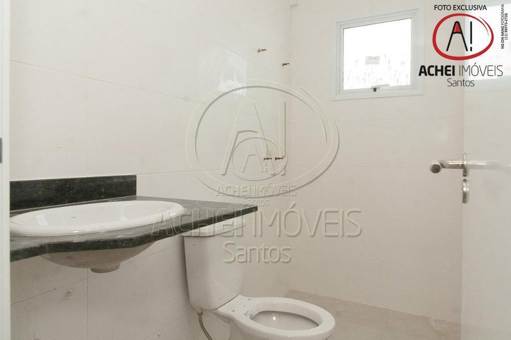 apartamento em santos, no embaré, empreendimento novo em excelente localização, lazer especial na cobertura: academis, piscina...