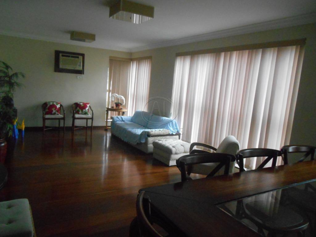 Apartamento residencial à venda, amplo, 3 dormitórios, 1 suite, 2 vagas demarcadas, Pompéia, Santos.