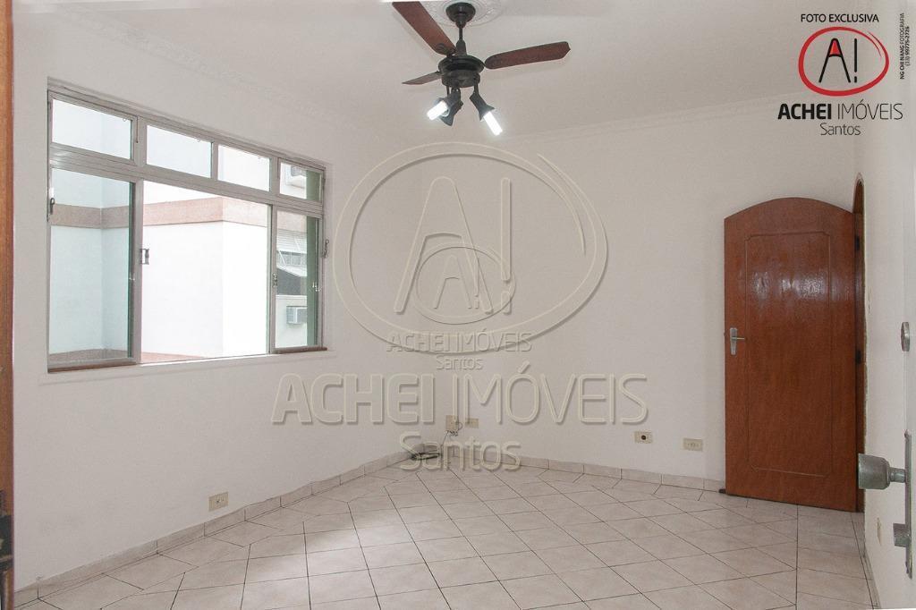 Apartamento Residencial à venda, 3 dorms, 1 suite, 1 vaga. Boqueirão, Santos - AP0531.