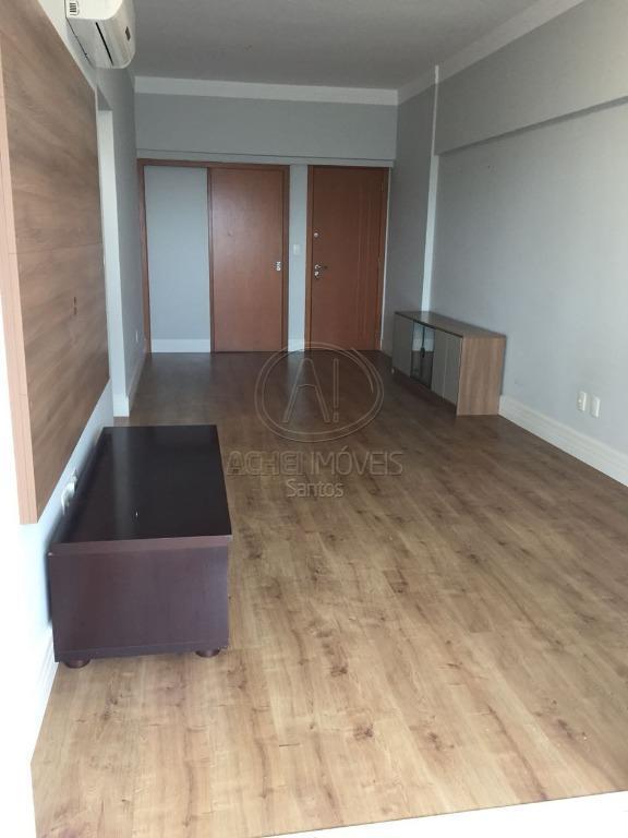 Apartamento residencial à venda, 2 dormitórios, 1 suite, 1 vaga demarcada com lazer completo,Vila Belmiro, Santos.