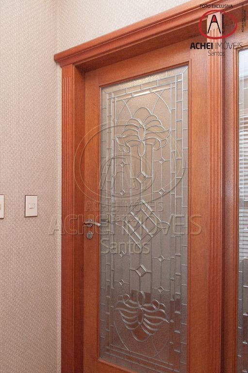 Apartamento Residencial à venda, 5 dorms, 5 suites, 4 vagas. Boqueirão, Santos - AP4930.