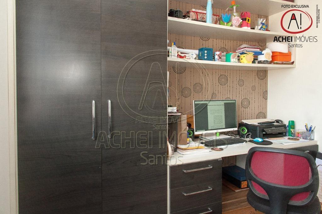 apartamento a venda em santos, vila belmiro, o imóvel possui 03 dormitórios com planejados, 01 suíte,...