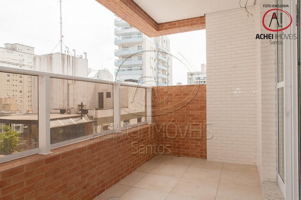 Apartamento com 2 dormitórios, 1 suite e 1 vaga demarcada à venda, 84 m² por R$ 650.000 - Boqueirão - Santos/SP