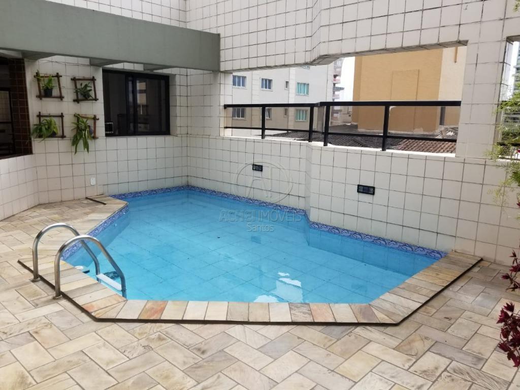 Apartamento Residencial à venda, 2 dormitórios, suite, garagem demarcada, lazer, Gonzaga, Santos - AP4757.