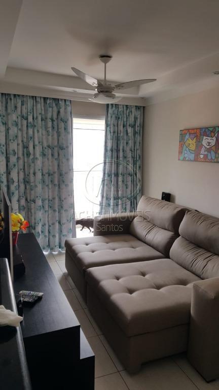 Apartamento com 2 dormitórios, 1 suite e 1 vaga demarcada à venda, 70 m², Vila Belmiro - Santos/SP