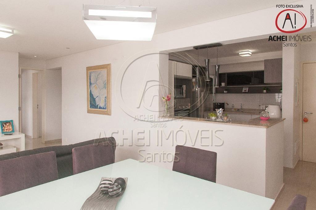 Apartamento com 3 dormitórios, 2 suites, varanda, 2 vagas, lazer completo, à venda, 96 m² por R$ 615.000 - Vila Belmiro - Santos/SP