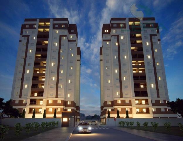 Apartamento residencial à venda, Além Ponte, Sorocaba.