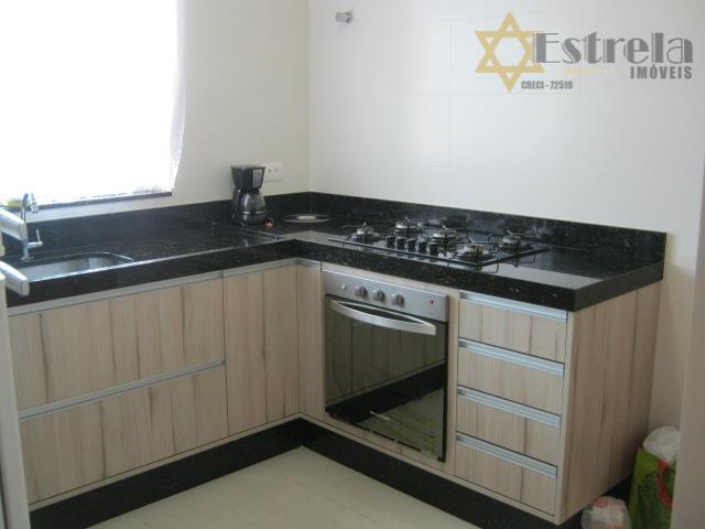 Sobrado seminovo residencial à venda, Vila02 dormitórios Caiçara, Praia Grande - SO0335.