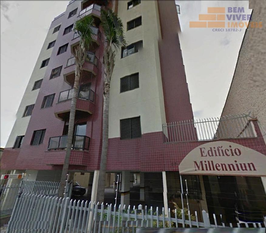 Apartamento com 3 dormitórios  residencial para locação, Centro, Taubaté.