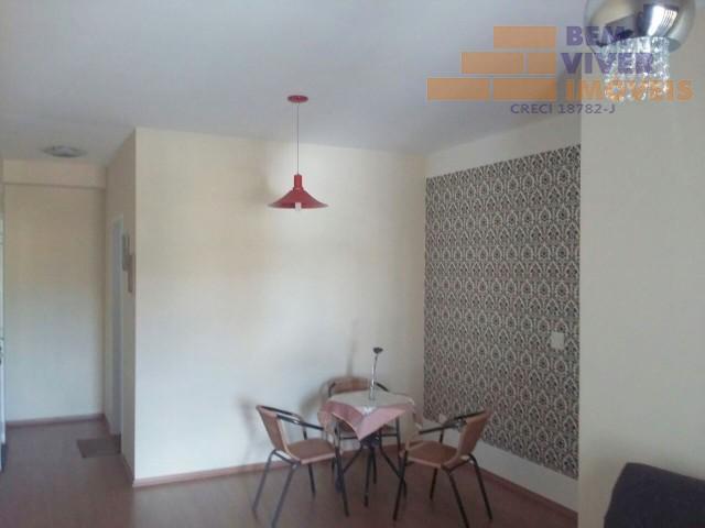 Apartamento residencial à venda, 3 dormitórios sendo 1 suíte, Vila Jaboticabeira, Taubaté.