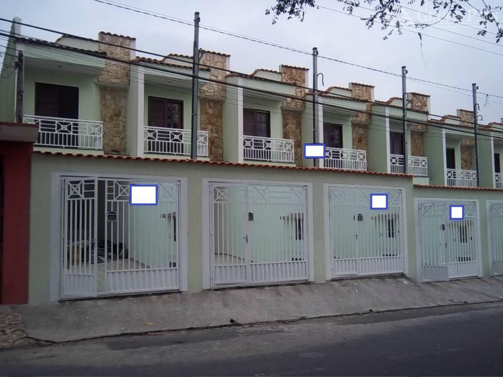 Sobrado com 3 dormitórios à venda, 96 m² por R$ 350.000 - Itaquera - São Paulo/SP