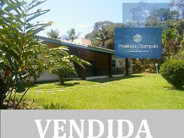 Casa residencial à venda, Encontro das Águas, Lauro de Freitas - CA0173.