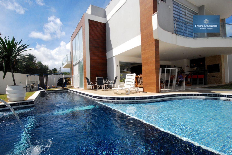 Casa residencial à venda, Miragem, Lauro de Freitas - CA0226.