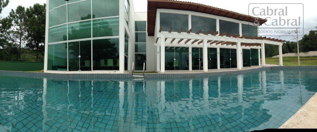 terreno em condomínio fechado com 305,00 m², com 16,00 metros de frente, com projeto arquitetônico já...