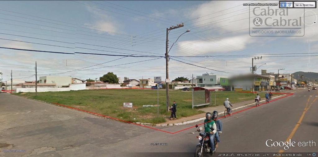 terreno com 3.246,00 m², com 46,00 metros de frente para a rua arquiteto nilson edson dos...