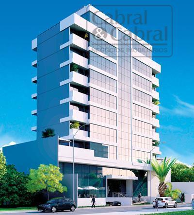 Apartamento com 03 suítes e 03 vagas de garagem na Praia Brava, Itajaí - SC