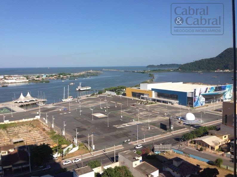 Cobertura Duplex com 04 suítes e linda vista para o mar em Itajaí