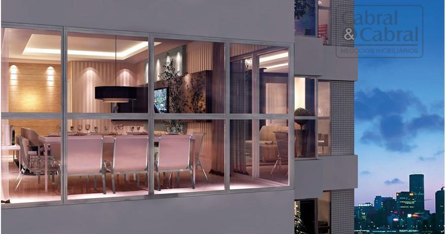 apartamento de alto padrão na barra norte, com 01 suíte master com closet e hidromassagem e...