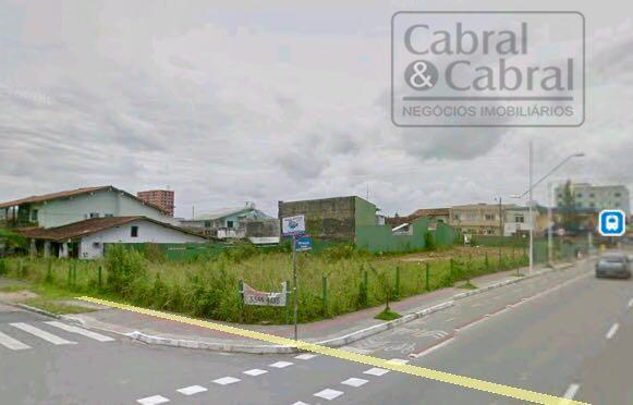 Terreno com 1.288,00 m², com 56,00 metros de frente para Rua Estefano José Vanolli, no Bairro São Vicente, em Itajaí (SC).