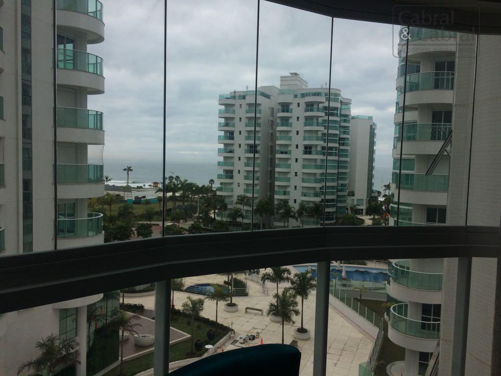apartamento no brava beach com 1 suíte mais 2 demi-suítes e 3 vagas de garagem. com...