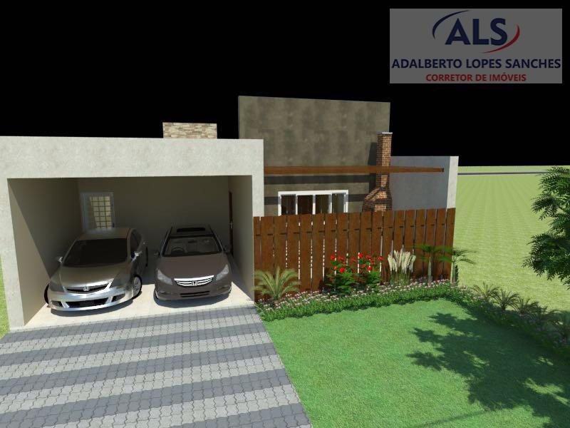 casa em construção, com data de entrega no início de novembro.área terreno 250,00 m²área casa 131,60...