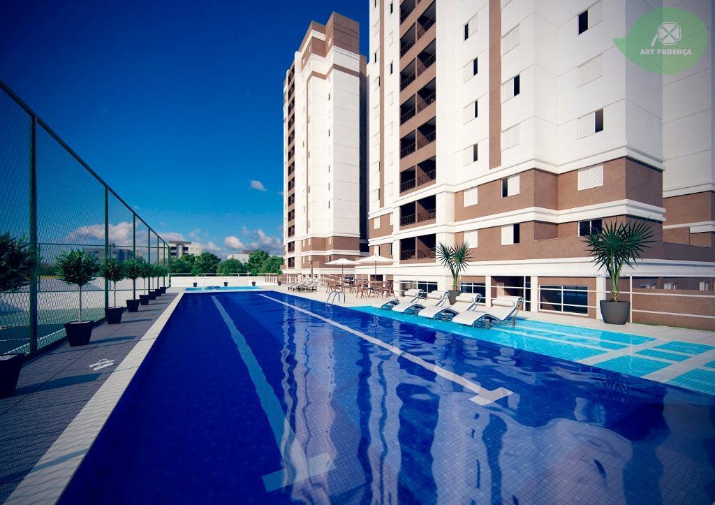 Apartamento residencial para locação, Além Ponte, Sorocaba.