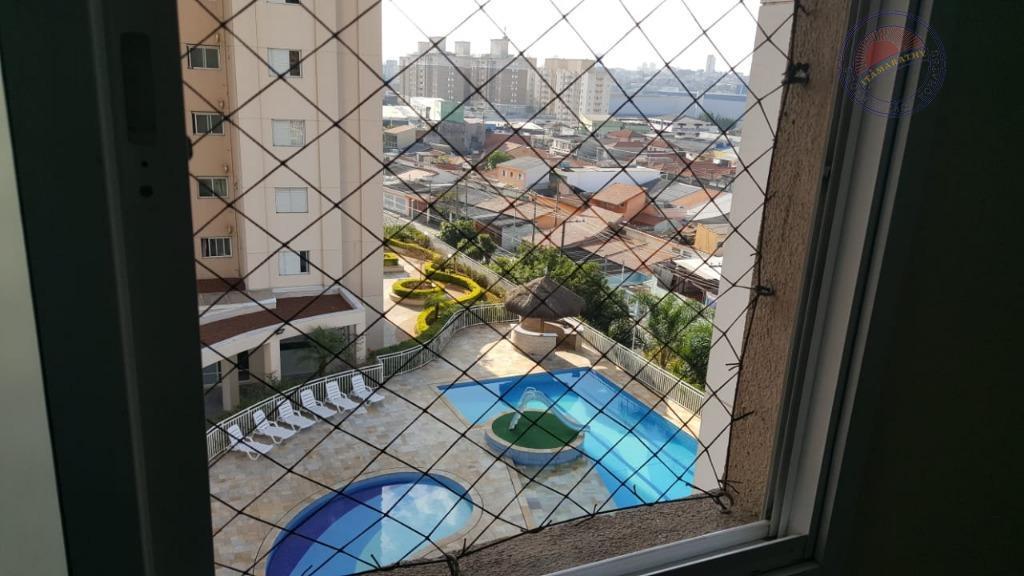 Apartamento residencial à venda, Parque Maria Luiza, São Paulo.