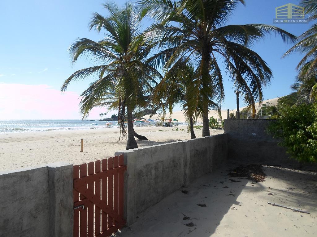 Linda casa beira mar proximo ao morro de Genipabu