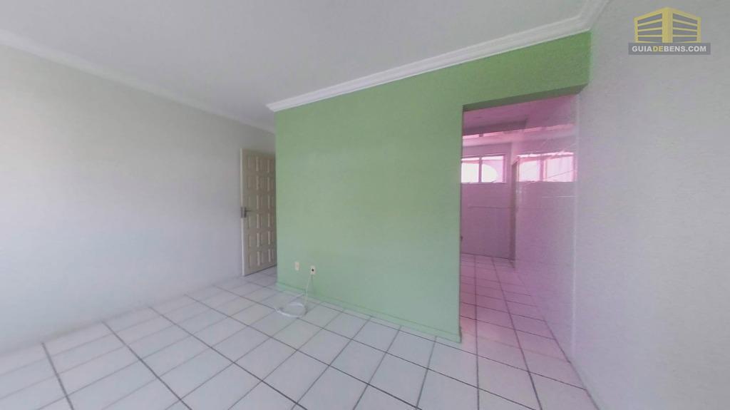 sala com vista para cozinha