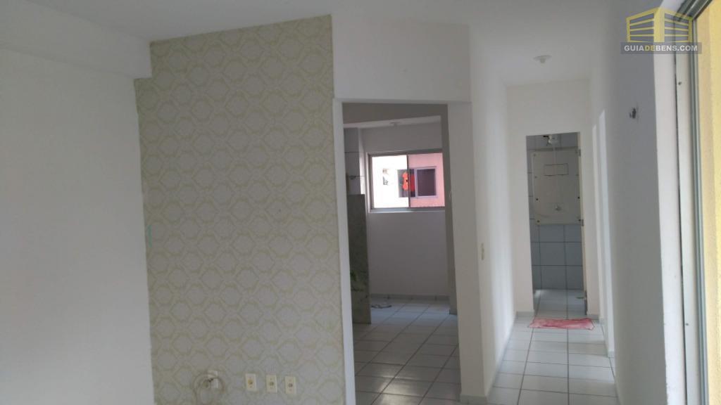 sala com vista a cozinha e quarto
