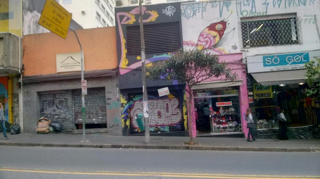 Loja comercial para locação, Jardins, São Paulo - LO0001.