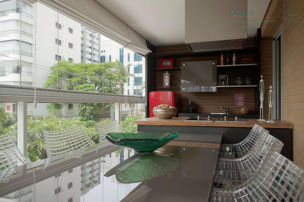 Apartamento residencial à venda, Itaim Bibi, São Paulo - AP0858.