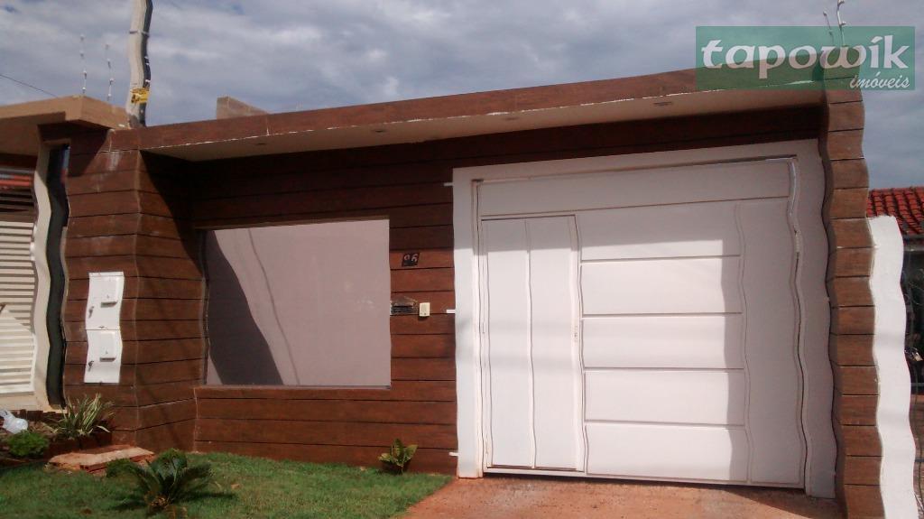 Casa residencial à venda,Rua Azulão,96 - Jardim Nossa Senhora Aparecida, Campo Mourão - CA0028.