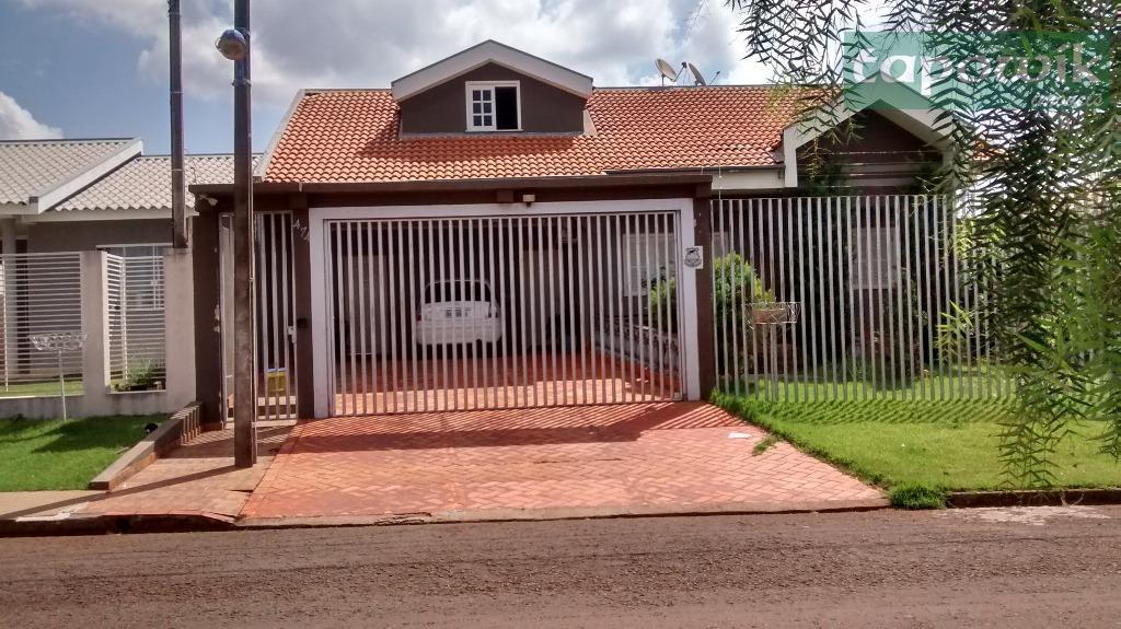 Casa  residencial à venda,Rua Dos Pessegueiros,474 - Jardim Araucária, Campo Mourão.