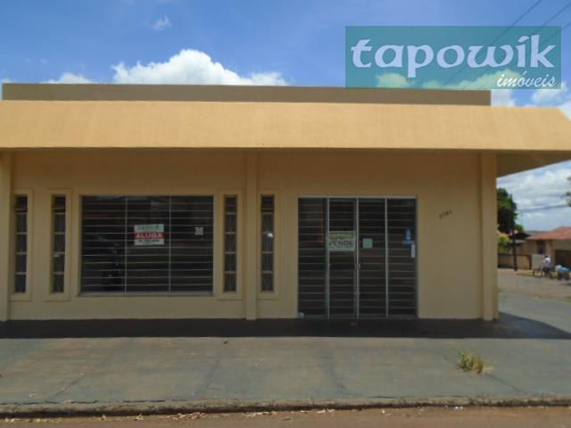 Av Jorge Walter, 2781Sala comercial para venda e locação,Av Jorge Walter ,2781 - Centro, Campo Mourão - SA0007.