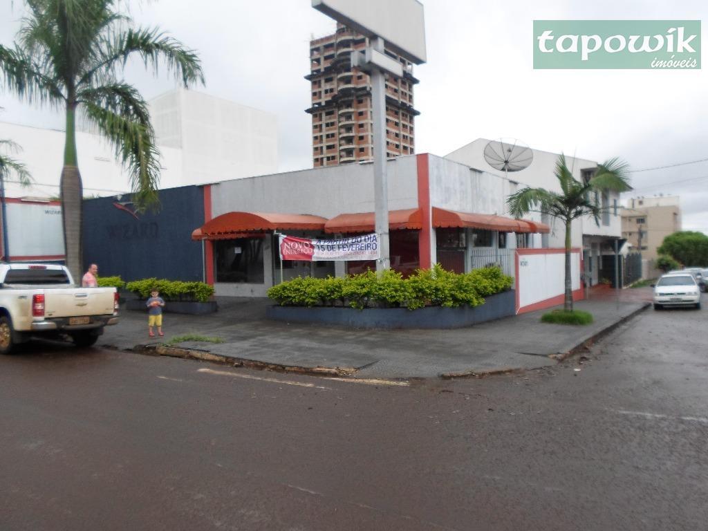 Salão  comercial  venda e locação ,Av Manoel Mendes de Camargo,2091 - Centro, Campo Mourão.