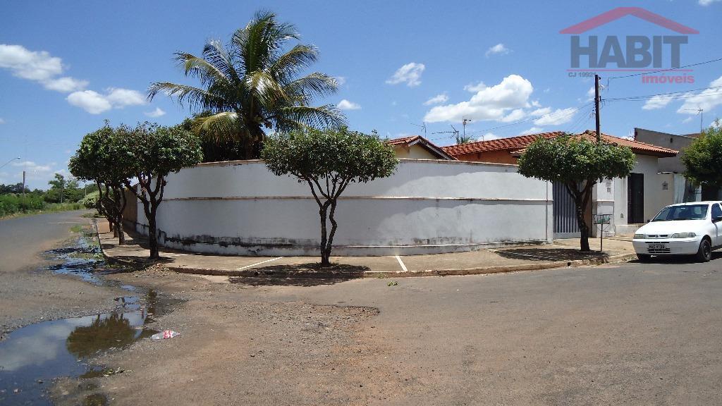 Casa Residencial à venda, Residencial Rassim Dibe, Bebedouro - CA0607.